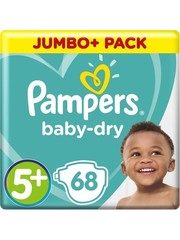 Pampers Pampers nr5+  Baby-Dry 68x
