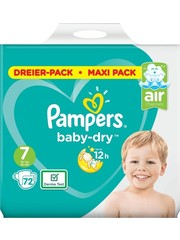 Pampers Pampers nr7 Baby-Dry 72x