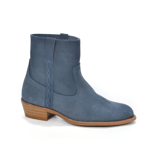 Andaluxx Andaluxx Isa Blue / Tan Brown - Size 41
