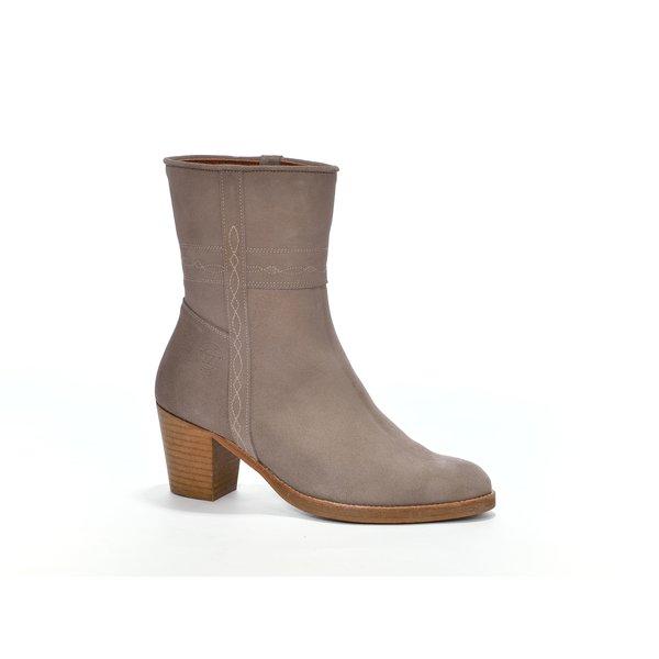 Andaluxx Andaluxx Noa Gray / Tan Brown - Size 41