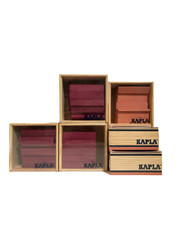 Kapla Kapla Offer 6 x 40 Pieces 3x pink 3 x plum