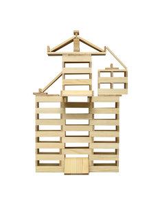 Micki Micki 200 blanke bouw plankjes