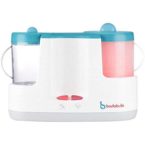 Badabulle Blauw Elektrische Stoomkoker en Flessenwarmer