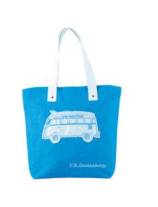 Twondo Volkswagen Canvas Shopper (blauw)