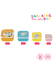 Set of 4 Snacking boxes