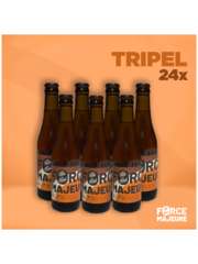 Force Majeure 24 x Tripel Blond  33cl  Alcoholvrij Tripelbier