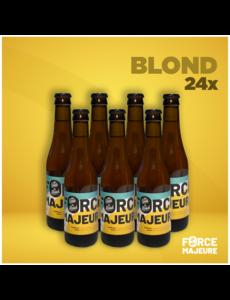 Force Majeure 24 x bière blonde traditionnelle sans alcool 33cl