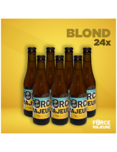 Force Majeure 24 x Traditional Blond 33cl Non-alcoholic specialty beer