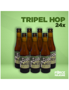 Force Majeure 24 x Tripel Hop 33cl Bière sans alcool