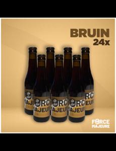 Force Majeure 24 x bière blonde traditionnelle sans alcool 33cl - Copy