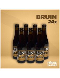 Force Majeure 24 x Traditional Blond 33cl Non-alcoholic specialty beer - Copy