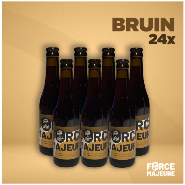 Force Majeure 24 x Force Majeure Traditional Blond 33cl Non-alcoholic specialty beer - Copy