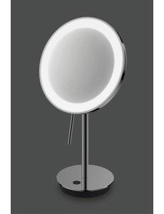 Zack ZACK Alona Led Cosmetic Mirror Standing 20x37.8 cm Black