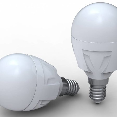 Zzia LED box Ball A45 milky - 10 pack - 5W 3000K 430lm