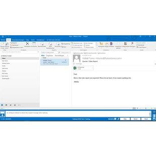 Gmetrix MOS 77-731 Outlook 2016 proefexamen