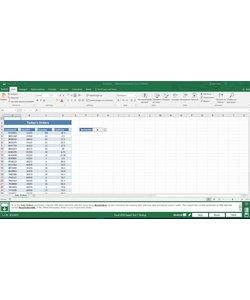 Excel 2016 Gmetrix MOS 77-728 Expert proefexamen