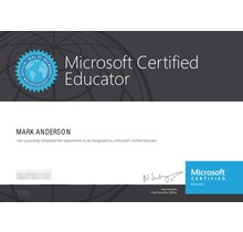 MCE Microsoft Certified Educator examen