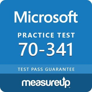 MeasureUp 70-341: Core Solutions of Microsoft Exchange Server 2013