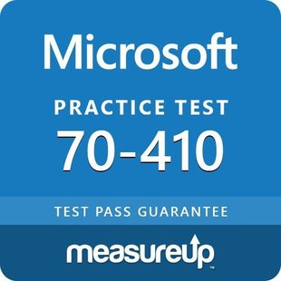 MeasureUp 70-410: Installing and Configuring Windows Server 2012