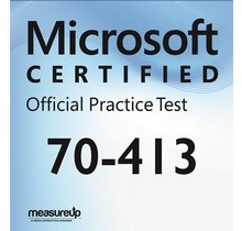 MeasureUp 70-413 Designing and Implementing a Server Infrastructure Proefexamen