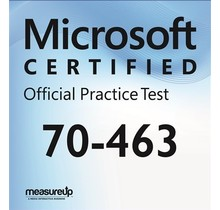 MeasureUp 70-463 Implementing a Data Warehouse with Microsoft SQL Server 2012 Proefexamen