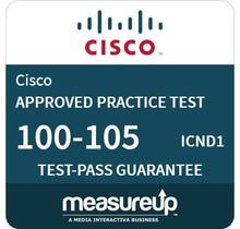 MeasureUp exam 100-105 ICND1 Proefexamen