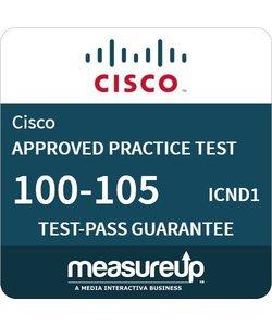 MeasureUp exam 100-105 ICND1 Test Exam