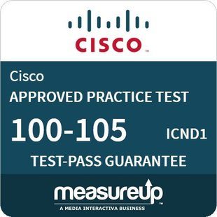 MeasureUp voor exam 100-105 ICND1 Interconnecting Cisco Networking Devices Part 1