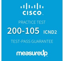 MeasureUp CISCO 200-105 Interconnecting Cisco Networking Devices Part 2 v.3.0 (ICND2)
