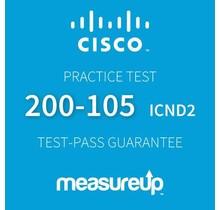 MeasureUp CISCO 200-105 Interconnecting Cisco Networking Devices Part 2 v.3.0 (ICND2) Proefexamen