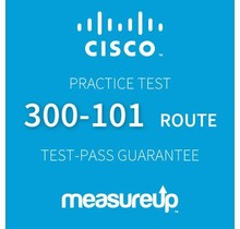 MeasureUp CISCO 300-101 ROUTE CCNP Routing and Swiitching Proefexamen