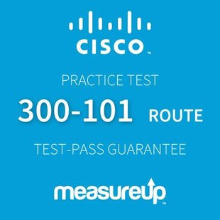 MeasureUp CISCO 300-101: ROUTE: CCNP Routing and Swiitching Proefexamen