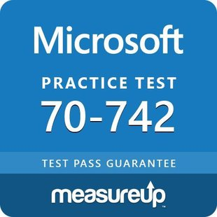 MeasureUp 70-742: Identity with Windows Server 2016
