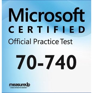 MeasureUp 70-740 Microsoft Windows Server 2016: Intallation, Storage and Computing