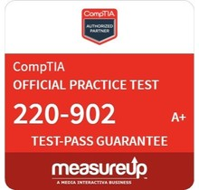 MeasureUp CompTIA A+ Exam 220-902 Proefexamen