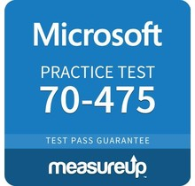 MeasureUp 70-475 Designing and Implementing Big Data Analytics Solutions Proefexamen