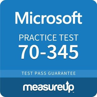 MeasureUp 70-345 Designing and Deploying Microsoft Exchange Server 2016