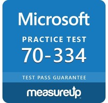 MeasureUp 70-334 Core Solutions of Microsoft Skype for Business 2015