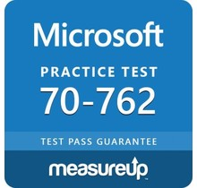 MeasureUp 70-762 Developing SQL Databases Proefexamen