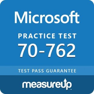 MeasureUp 70-762 Developing SQL Databases