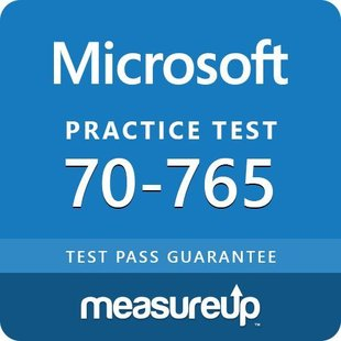 MeasureUp 70-765 Provisioning SQL Databases