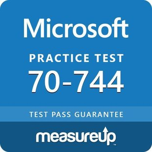 MeasureUp 70-744 Securing Windows Server 2016 Test Exam