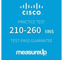 MeasureUp CISCO 210-260 IINS Proefexamen