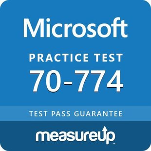 MeasureUp 70-774: Perform Cloud Data Science with Azure Machine Learning