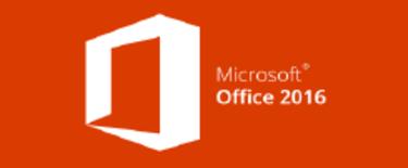 Microsoft Office 2016.