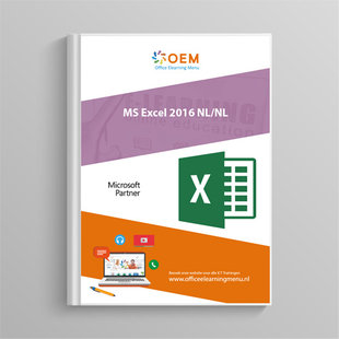 Microsoft Excel 2016 Cursusboek