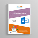 Microsoft Outlook 2016 Cursusboek