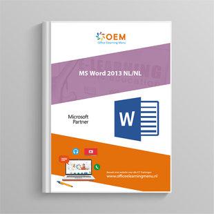 Word 2013 Cursusboek
