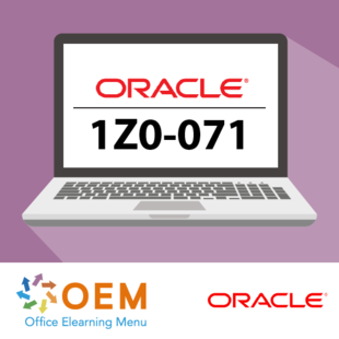 Oracle Database 12c R2 SQL exam 1Z0-071 E-learning