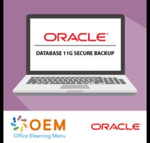 Oracle Database 11g Secure Backup E-Learning